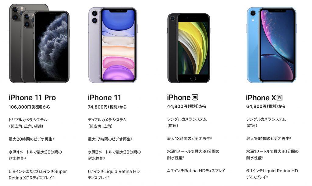 iPhoneを新たに買うには?